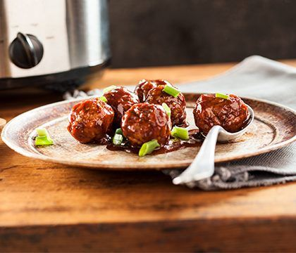 cooked perfect homestyle meatballs lifestyle