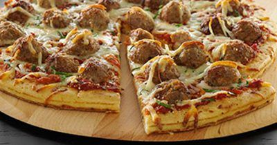 cooked perfect recipe cheesy meatball pizza