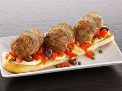 cooked perfect recipe loaded meatball bruschetta