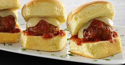 cooked perfect recipe meatball sliders