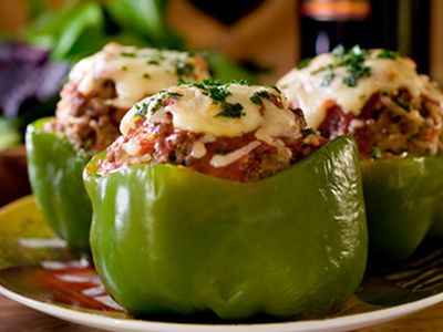 cooked perfect recipe meatball stuffed peppers