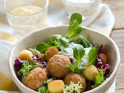 Swedish Meatball Salad