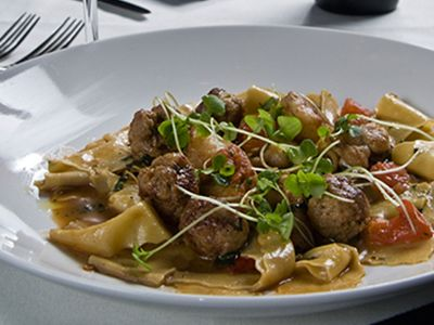 Swedish Meatballs with Noodles and Gravy