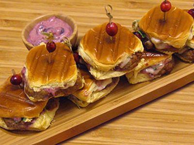 Thanksgiving Turkey Meatball Sliders
