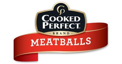 cooked perfect meatballs logo