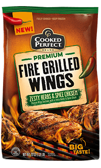 Zesty Herbs & Spice Fire Grilled Wings