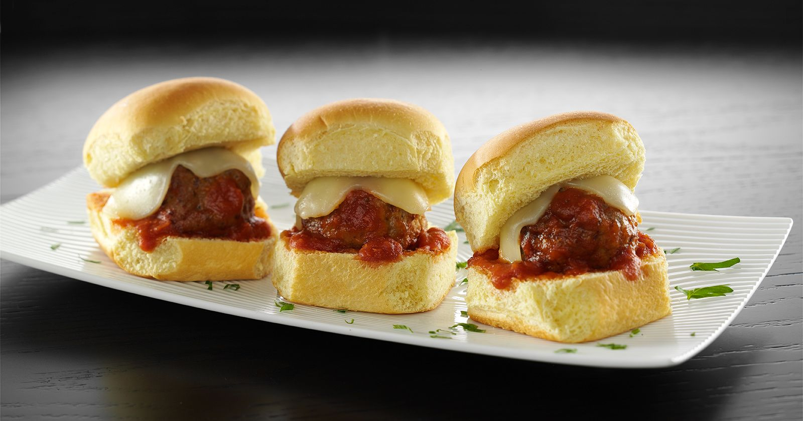 cooked perfect italian style sliders