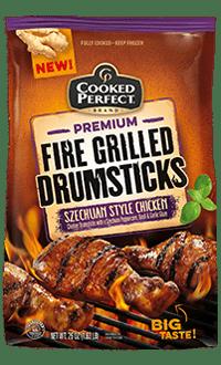 Szechuan Style Fire Grilled Drumsticks