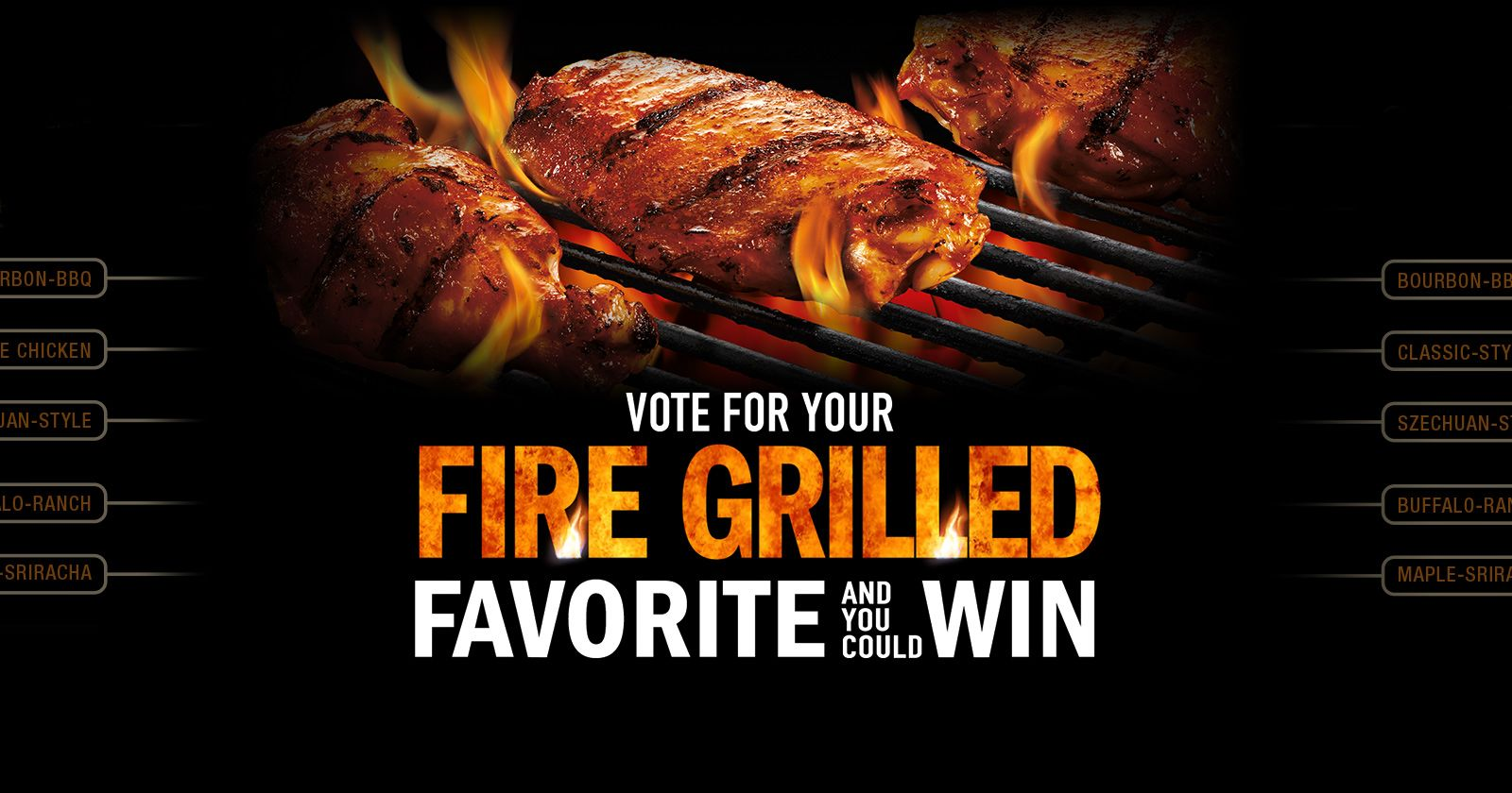 cooked perfect fire grilled flavor bracket 2017 sweepstakes slider