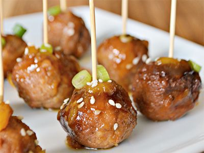 cooked perfect recipe slow cooker pineapple teriyaki meatballs
