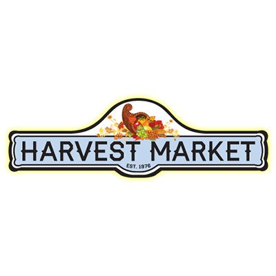 cooked perfect retailer logo harvest market