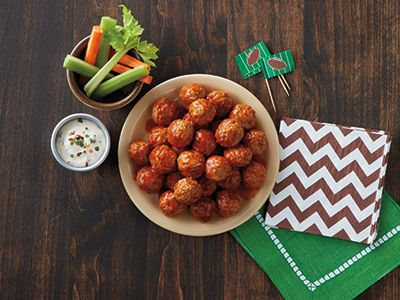 Buffalo Ranch Meatballs