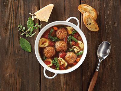 cooked perfect recipe italian meatball and cheese tortellini soup