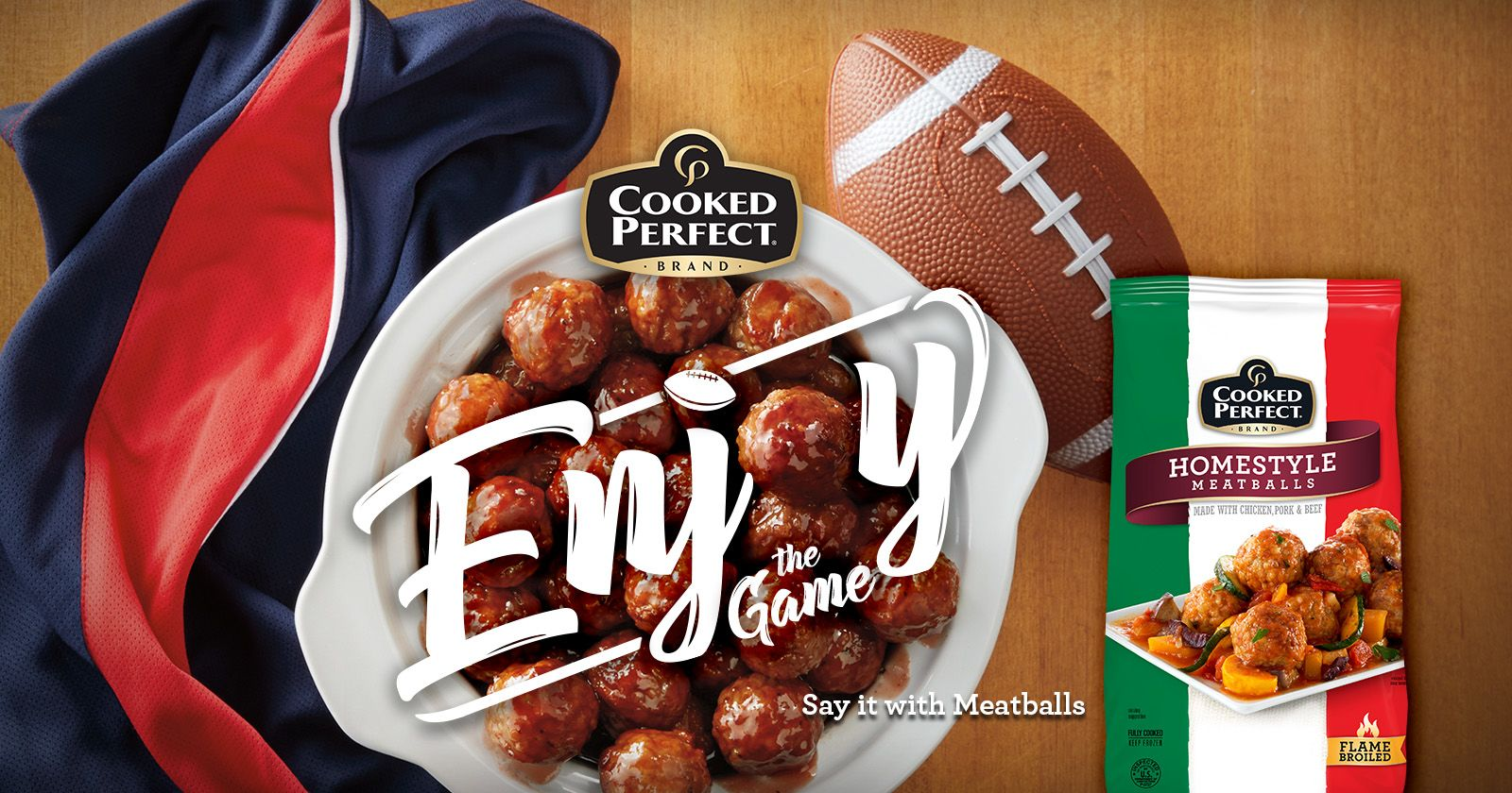 cooked perfect enjoy the game 2018