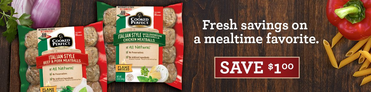 cooked perfect fresh meatballs coupon spring 2018