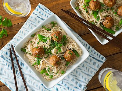 Opinion, this asian meatballs over sesame noodles commit