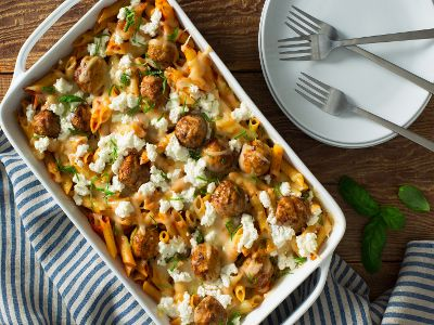 cooked-perfect-recipe-meatballs-and-penne-pasta-bake