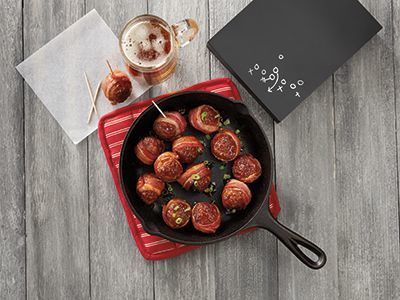 cooked perfect recipe bacon wrapped meatballs