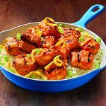 cooked perfect fire grilled buffalo chunks recipe