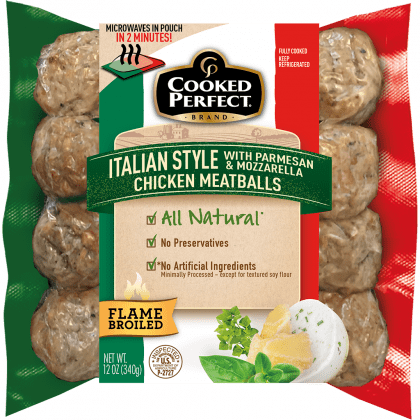 cooked perfect fresh meatball italian chicken product image
