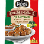 cooked perfect meatball all natural homestyle product image