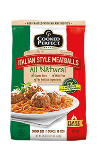 cooked perfect meatball all natural italian style product image
