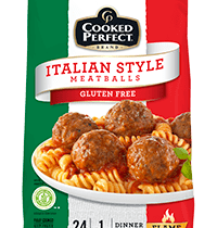 cooked perfect meatball glutenfree product image