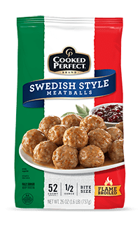 cooked perfect meatball swedish product image